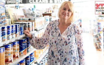 059: In 2011 after the divorce, kept the business with 6 stores and added franchisees, expanded to 24 stores in 4 States with 12 franchises. Taking over aged 52 grew from 20 to 65 FTE, sales $7M to $27M. Funded growth from profits (Daph Crowhurst)